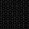 design zeshoekig zwart